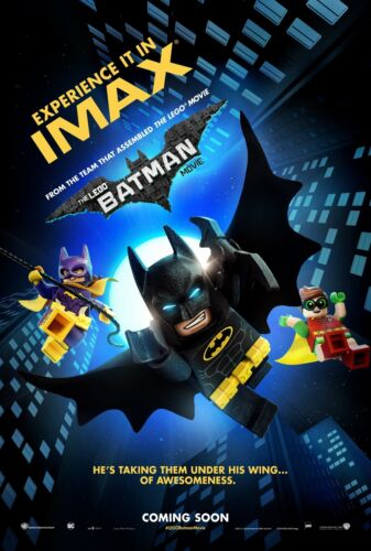 Ralph Fiennes 2 24x36 - Will Arnett The Lego Batman Movie Poster Jenny Slate