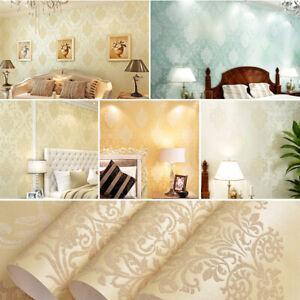 3D-Crystals-European-Gold-Damask-Embossed-Textured-Living-Room-Wallpaper-Decor
