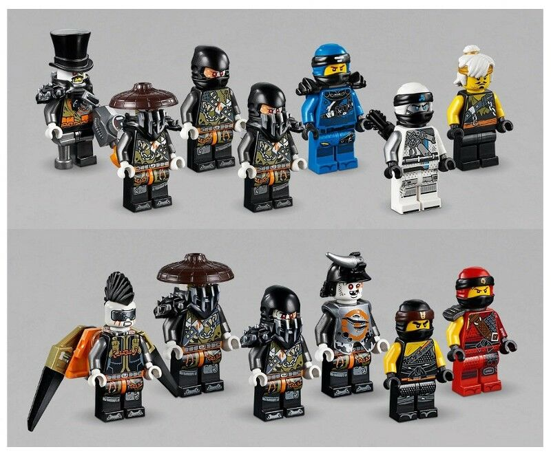 LEGO - Ninjago  Hunted - 13 Mini cifras - Iron Baron, Cole, Zane, Teen Wu & More  vendendo bene in tutto il mondo