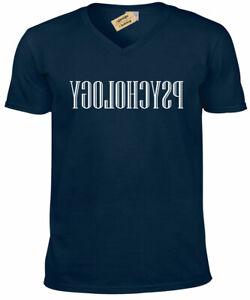 Inversa-Psicologia-Genitori-Insegnante-Uomo-Scollo-a-V-T-Shirt