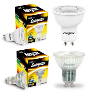 Ampoules GU10 Energizer LED 3W 35W 5W 50W  Spot Light Jour Chaud Blanc Froid