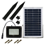 DINHAND-Solar-Lights-Outdoor-With-Long-5m-16-4ft-Extension-Wire-54-LED-amp-400 thumbnail 1