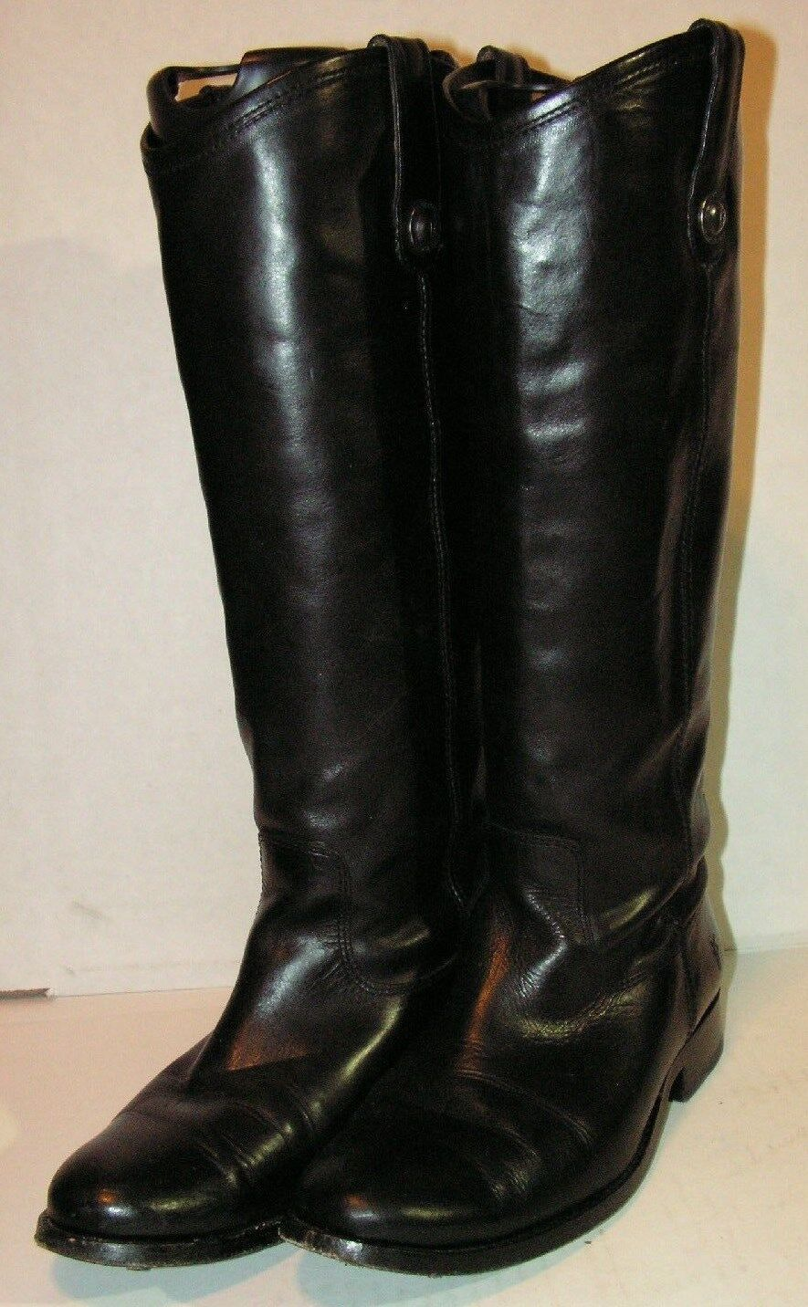 Frye Womens Melissa Button Riding  Leather Boots size 6 B