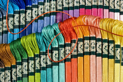 You Pick Colors Quantity of 10 Skeins DMC 6-Strand Cotton Embroidery Floss