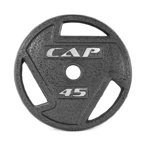 Paire Olympique 2 Grip Accueil GYM Fitness Exercice FONTE NOUVEAU environ 20.41 kg Poids Plaques 45 Lb