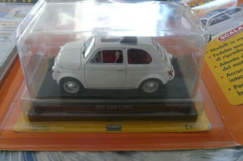 Modèle de voiture Fiat 500 F Quattroruote Collection 1/24