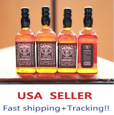 1//6 4 x bottles whiskey alcohol toy for Hot toys Kumik Phicen stage property