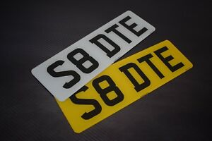 Pair-Short-Small-5-digit-Road-Legal-Number-Plate-MOT-Compliant-FREE-POSTAGE