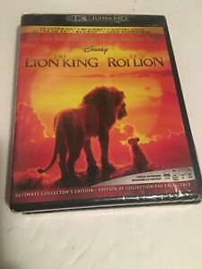 DISNEY-THE-LION-KING-4K-2019-ULTRA-HD-amp-BLURAY-amp-DIGITAL-SET-No-slip