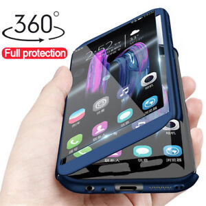 360-Full-Cover-Case-Tempered-Glass-For-Huawei-Honor-8A-8X-8-9-10-20-Lite-Play