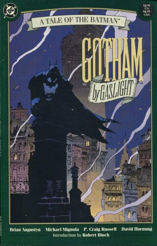 A TALE OF BATMAN 1989 GOTHAM BY GASLIGHT FIRST EDITION AMAZING CONDITION
