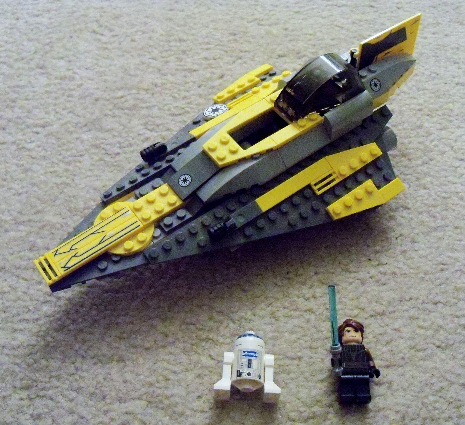 LEGO Star Wars - Rare Anakin's Jedi Starfighter 7669 - Complete