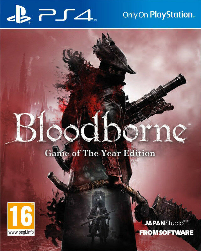 PS4 Bloodborne - Game of the Year Edition (brand new)
