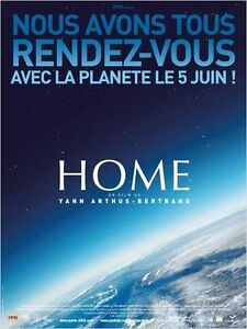 Affiche-40x60cm-HOME-2009-Yann-Arthus-Bertrand-Documentaire-NEUVE