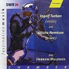 Hebrew Melodies for Violin and Piano Various Composers Audio CD