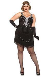 Plus Size Leg Avenue Gatsby Flapper Costume