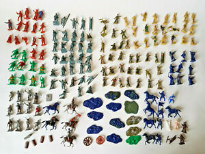 Airfix-Cesare-Minatures-SOLDATI-Cowboys-CAVALIERI-Robin-Hood-150-Bundle-JOB-LOT