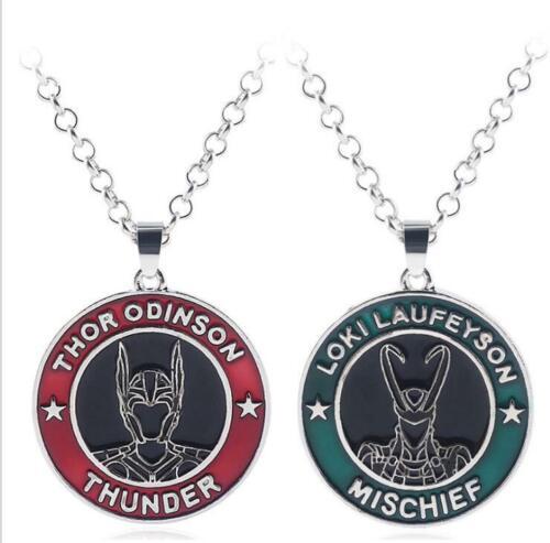 Avengers Issue Thor odinson Thunder Luki Collier Métal Pendentif Cosplay Cadeau