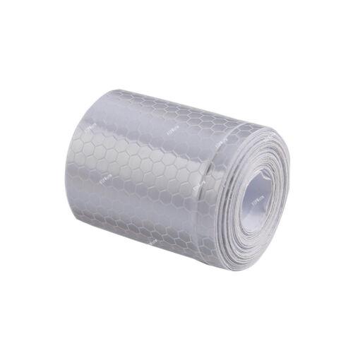 White Car Truck Self-adhesive Safety Warning Tape Sticker Reflective Stripe