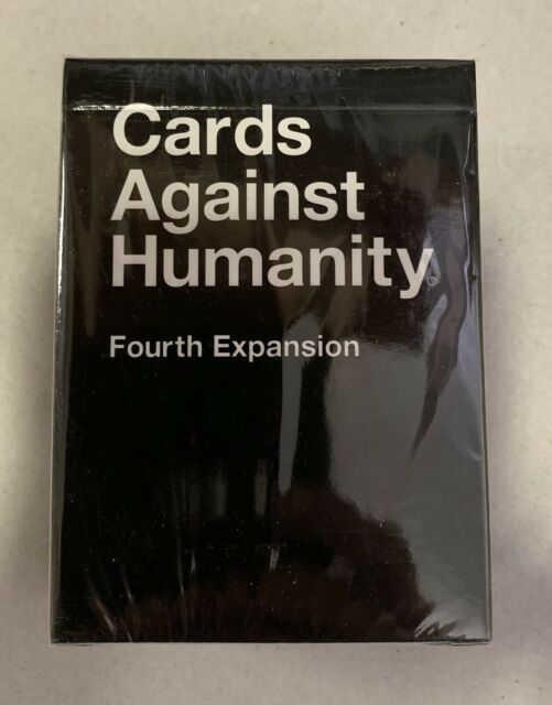 NEW Cards Against Humanity Fourth Expansion - Sealed