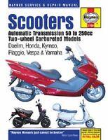Haynes Scooter Service Manual 2760 Honda Cn250 Helix 99 00 01 02 03 04 05 06 07