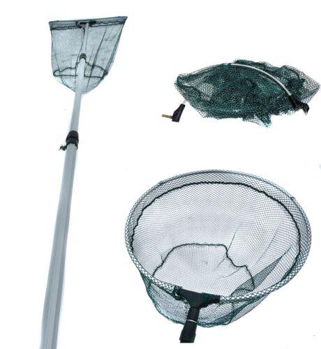 Kescher Netz Unterfangkescher Teleskop-Kescher für Forellensee kescher2,80m