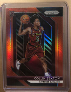 2018-19 Panini Prizm COLLIN SEXTON ROOKIE RED RC /299 #170 CAVALIERS 🔥