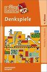 LÜK. Denkspiele 2 von Heinz Vogel (1994, Geheftet)