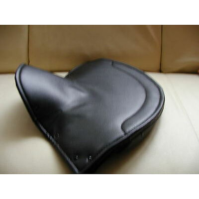 new LARGE LYCETTE SOLO saddle seat COVER Lycett seatcover classic motorcycles