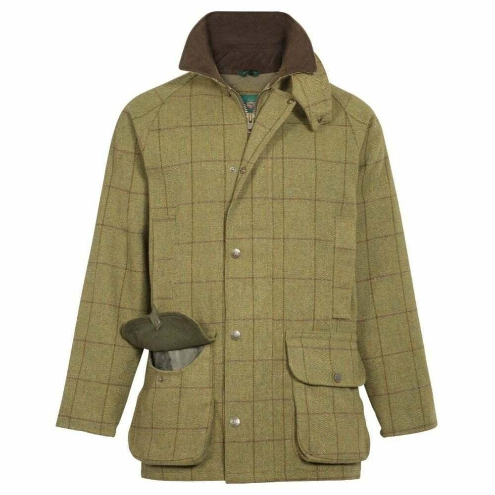 Alan Alan Alan Paine Mens Rutland Tweed Coat | Lebhaft  525d09