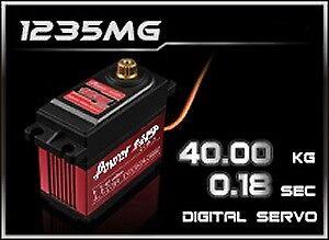 Power-HD Digital HV servo 1235mg 59,5x29,5x55,0 mm - 35,0kg - (2114.021)