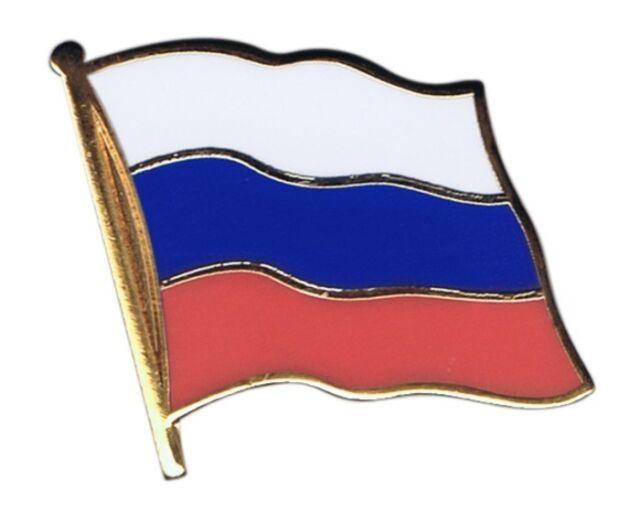Russland Flaggen Pin Fahnen Pins Fahnenpin Flaggenpin Anstecker