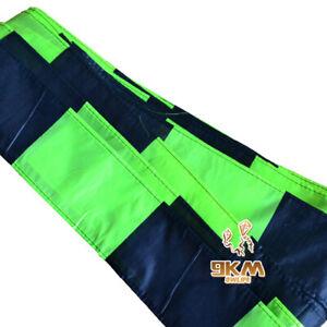 Black-amp-Green-Kite-Tail-15M-49ft-Single-Line-Kites-Delta-Kites-Outdoor-Toys