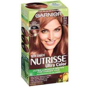Image Is Loading Garnier Nutrisse Ultra Color Haircolor B4 Caramel Chocolate