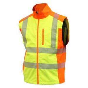 Actif Warnschutzweste 4730 Yo-hiviz Gilet Softshell Gilet Warnschutz Facile Étanche