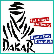 Paris Dakar etiqueta con logotipo en etiqueta 42cm X 27cm Suv 4wd 4x4 Cuatro Ruedas Negro