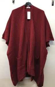 Ladies-Lagenlook-Plus-Size-Pocket-Cape-Cardigan-Size-16-24