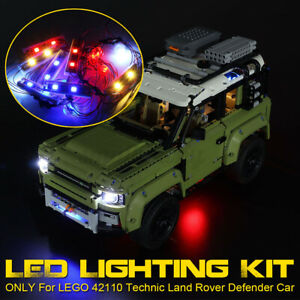 LED Licht Beleuchtung Kits Für LEGO 42110 Technic Land Rover Defender Car Light