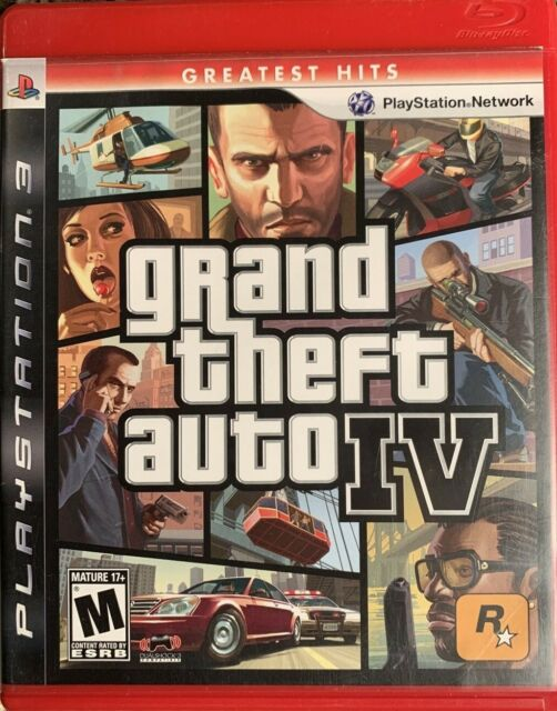 Grand Theft Auto-Episodes From Liberty City PS3(PlayStation 3, 2010) *Disc Only*