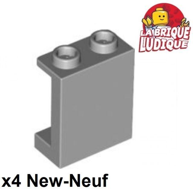 Trans Clear NEUF Panel Wall 1x2x2 lego 87552-4x Panneau Mur