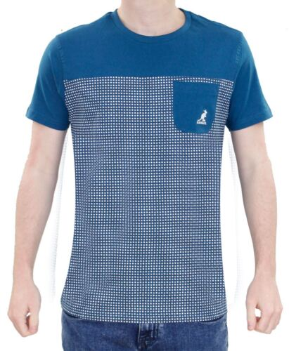 Kangol Boys T Shirt Children Round Neck Pocket Cotton Short Sleeve Kids Shirt