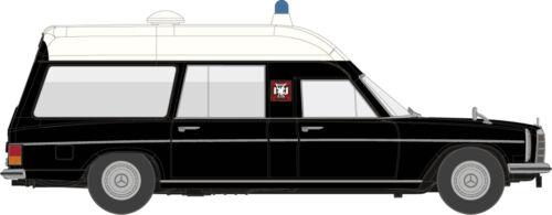 """H0 Auto Modell 1:87 MB //8 KTW /""""Falck/"""" schwarz//weiß von Starmada Brekina 13812"""