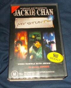 JACKIE-CHAN-MY-STUNTS-VHS-PAL