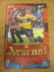 02-05-1999-Arsenal-v-Derby-County-Creased-Team-Changes