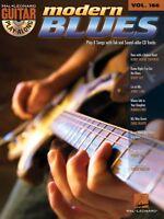 Modern Blues Sheet Music Guitar Play-along Book And Cd 000700764