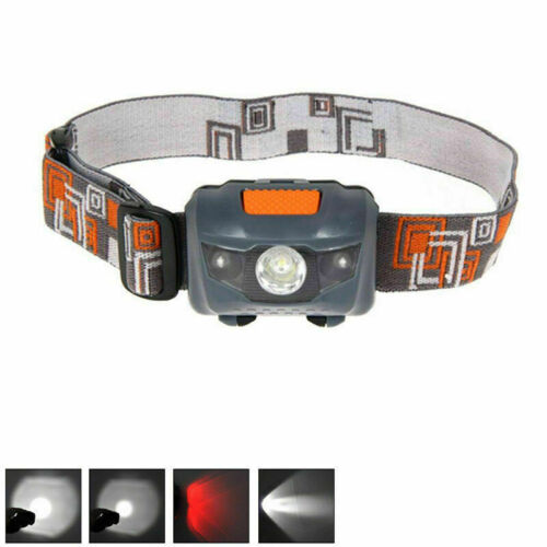 900LM XML R3 2 LED Stirnlampe USB Kopflampe 18650 Akkus-DE Neu S0N7