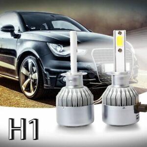 New-2pcs-C6-LED-Car-Headlight-Kit-COB-H1-36W-7600LM-White-Light-Bulbs-U5U1
