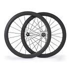 700C 50mm Copertoncino Carbon Set Ruote per strada Bicicletta Carbon ruote