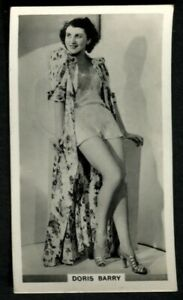 Tobacco-Card-Ardath-PHOTOCARDS-FILM-ETC-GROUP-M-Standard-1939-Doris-Barry