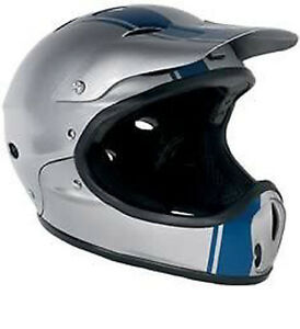 Protec-Ace-Cara-Completa-Casco-Snowboard-Plata-Medio-pero-Se-como-un